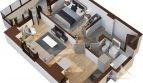 Apartament 2 camere 53.2mp – Tatarasi Iasi