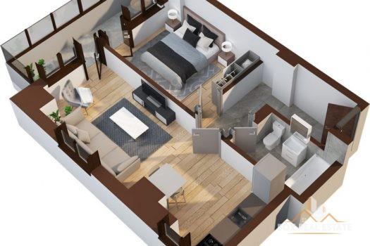 Apartament 2 camere 53.2mp - Tatarasi Iasi