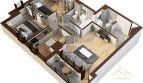 Apartament 3 camere 72.5mp – Tatarasi Iasi